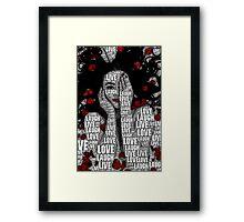 LiveLoveLaugh Framed Print