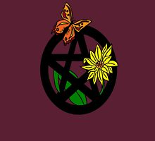 Butterfly and Flower Pentacle Unisex T-Shirt