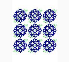 ethnic style blue pattern Unisex T-Shirt