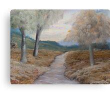 An Evening Walk  Canvas Print
