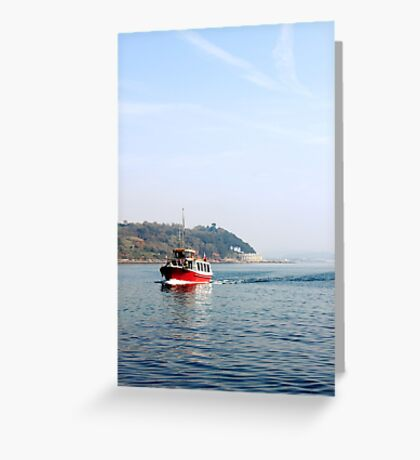 Ferry Nice Greeting Card
