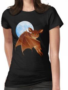 Sweet Halloween Bat Womens Fitted T-Shirt