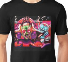 !!!ZIM!!! and Gir in the Voot Cruiser Unisex T-Shirt