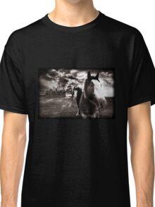 Horses 1 T shirt Classic T-Shirt