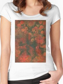 Flowers 8 Women's Fitted Scoop T-Shirt