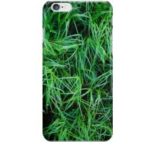 Abstract Grasses iPhone Case/Skin