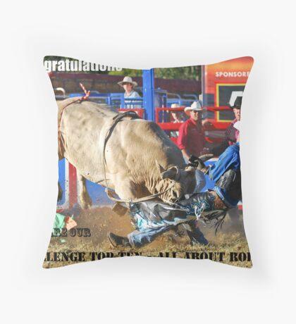Top Ten banner Throw Pillow