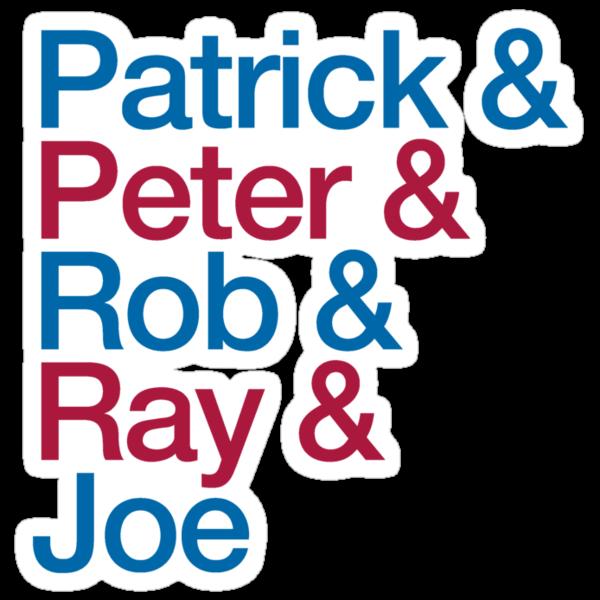 Patrick & Peter & Ray & Rob & Joe by pootpoot