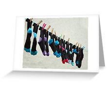 matching pairs. Greeting Card