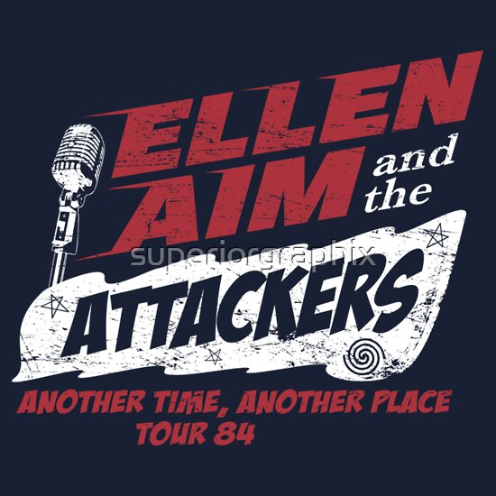 ellen aim amp the attackers tour 84 unisex tshirt a t