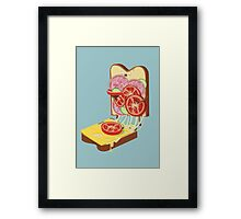 The accident Framed Print