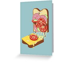 The accident Greeting Card