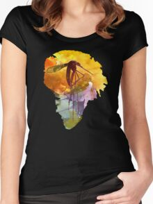 Isla Nublar Women's Fitted Scoop T-Shirt