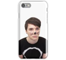 dan howell w/ cat whiskers iPhone Case/Skin