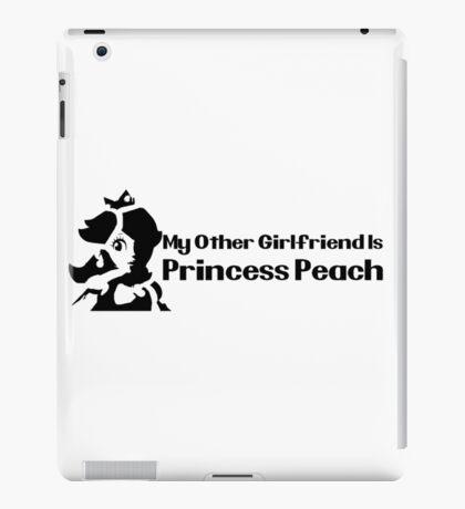 My other girlfriend is Princess Peach - Nintendo iPad Case/Skin