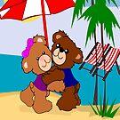 Teddy's At the beach(716  Views) by aldona