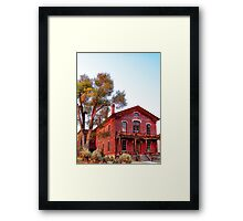 Hotel Meade 2 (Bannack, Montana, USA) Framed Print