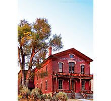 Hotel Meade 2 (Bannack, Montana, USA) Photographic Print