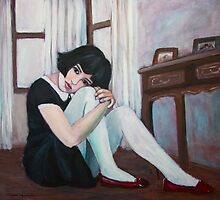 Dorothy's Red Shoes by Magda Vacariu