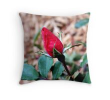 The Perfect Bud Throw Pillow