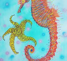Sassy Seahorse by Laura Barbosa