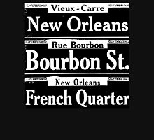 Street Sign Scenes of New Orleans Unisex T-Shirt