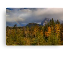 Bow Valley Fall  Canvas Print
