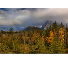 Bow Valley Fall  Photographic Print