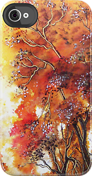 Timeless Trees iPhone Case by © Linda Callaghan