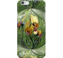 Pansy Orchid iPhone Case/Skin