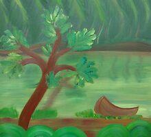 jungle river by rainbowvortex