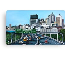 Pacific Motorway Canvas Print