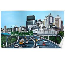 Pacific Motorway Poster