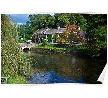Tranquill English Village Poster
