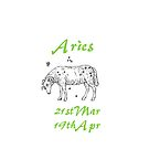 Aries by Catherine Hamilton-Veal  ©