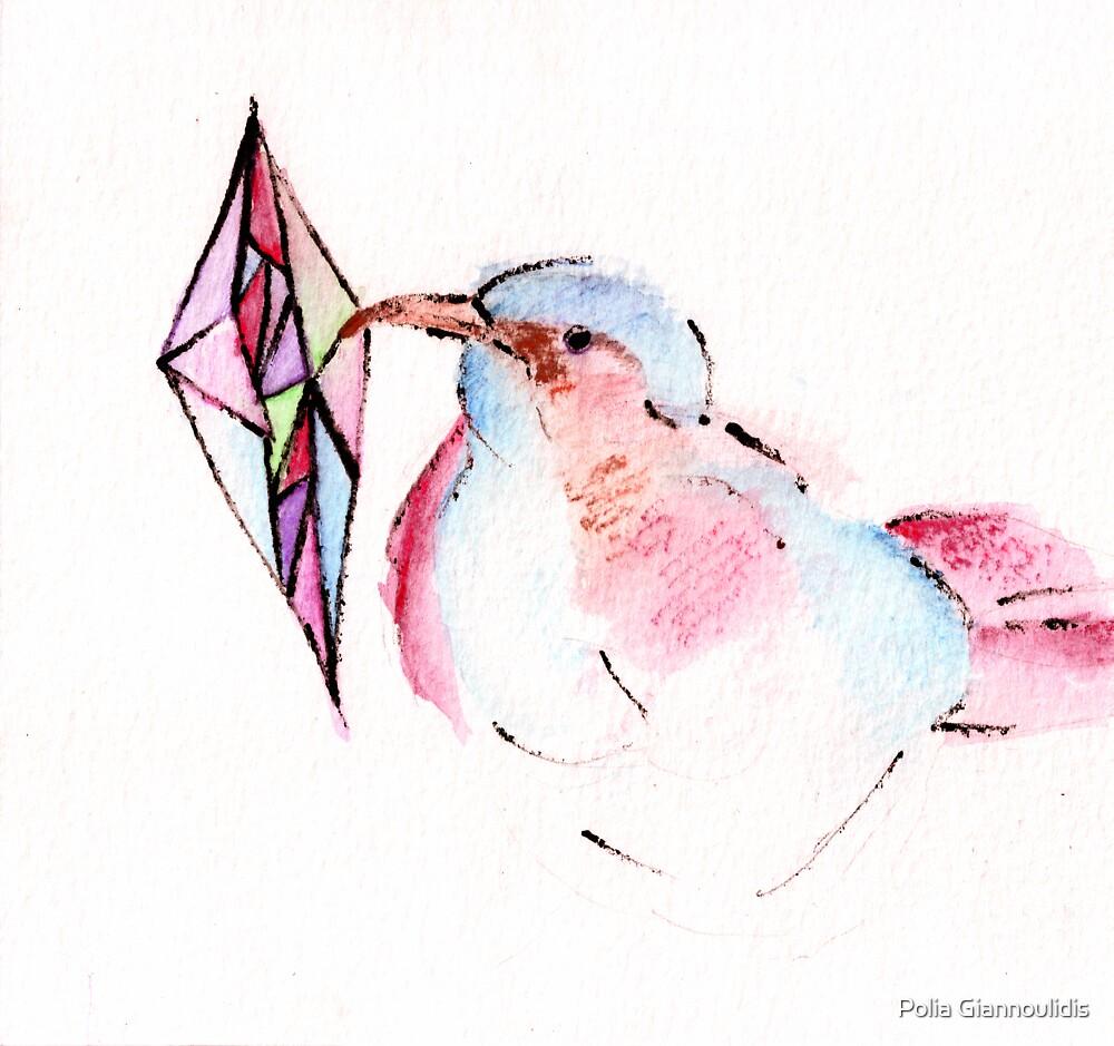 Geometric.Bird by Polia Giannoulidis