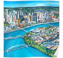 Four Bridges Poster