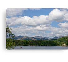 Lake Windermere Canvas Print