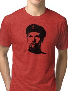 Evil Spock Plain  Tri-blend T-Shirt