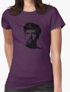 Evil Spock Plain  Womens Fitted T-Shirt