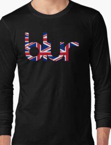 Blur UK Logo Long Sleeve T-Shirt