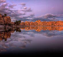 Violet on the Rocks by Bob Larson