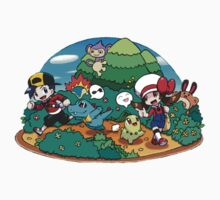 pokemon park One Piece - Short Sleeve