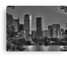 Sydney in Black and White Canvas Print