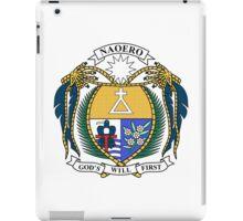 Coat of Arms of Nauru  iPad Case/Skin