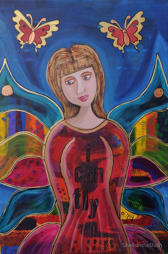 ButterFly Girl by ShellsintheBush