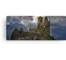 The History in this Landscape. Canvas Print