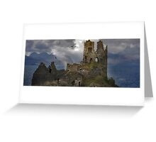 The History in this Landscape. Greeting Card