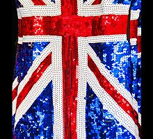 Union Jack Glitterati - iPhone Cover by Bryan Freeman