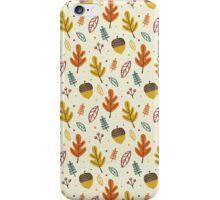 Hello autumn iPhone Case/Skin